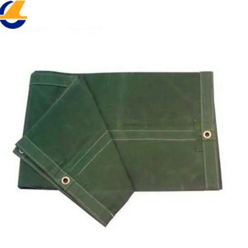 Green Cotton Canvas Fabric for Tents