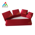 Red Velvet Plastic Schmuckschatulle Set