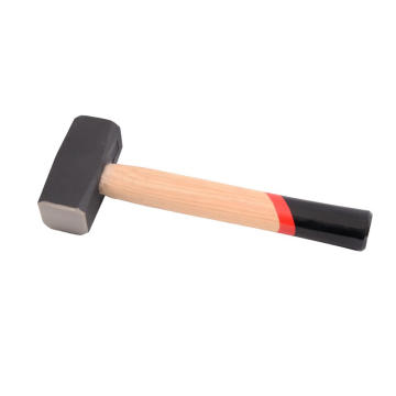 Stoning hammer with wooden handle 1000g