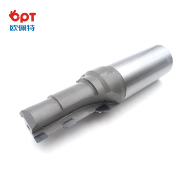 PCD keyway milling cutter edge with pilot