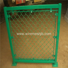 Hot Dipped Galvanized Basketball Court Chain Link Fence