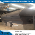 Waste engine oil refining to diesel distillation plant