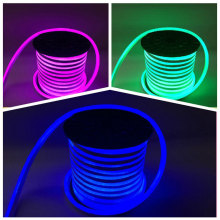 Luz de cuerda de neón de LED RGB flexible impermeable