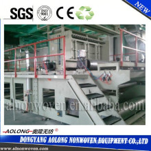 AL-2400SS 2.4m double beam PP spunbond non woven fabric making machine for Operation suit, Mask
