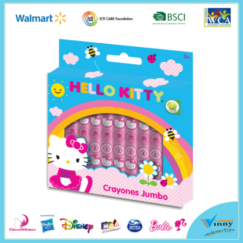 Hello Kitty 10 Piece Crayon Set