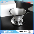 4 cups pour over stainelss steel coffee maker