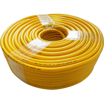 8.5mm yellow high pressure braid spray hose