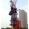 supported static tower crane