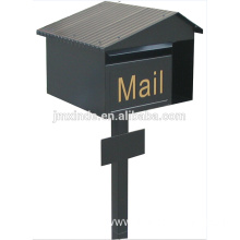 SZD SMB-043SS high quality waterproof steel mailbox with low price