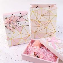 Luxury Pink Gift Packaging Paper Box