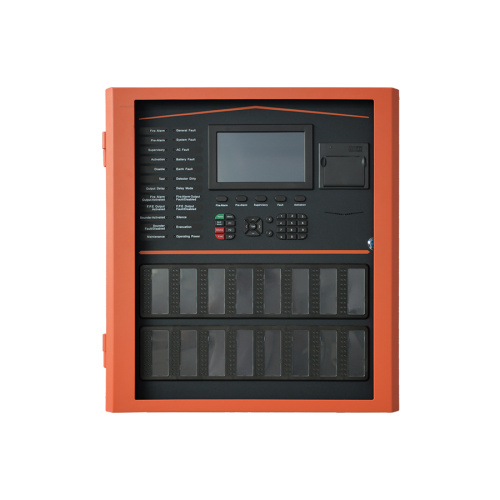 Spanish Language 8 Loops Fire Alarm Control Panel