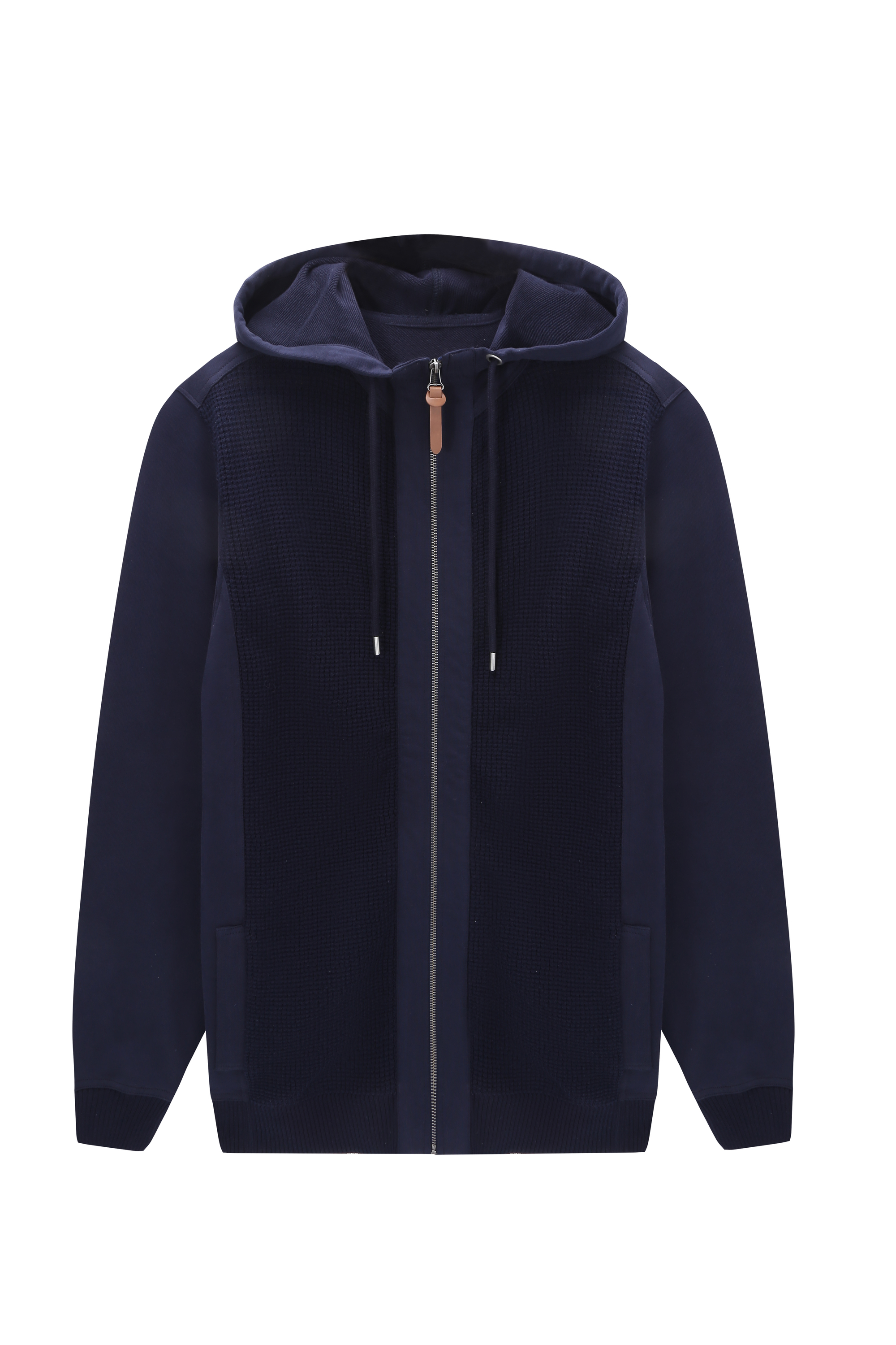 Men's Casual Slim Fit Hoodie Zip-Up Jacket