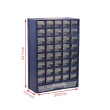 tool box Plastic parts box drawer type parts Storage box Wall-mounted classification electronic component box high quality