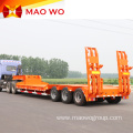 Hot Sale Equipment 100ton Lowbed Trailer for Sale