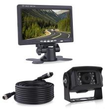 Wired Heavy Duty Vehicle Camera and Monitor System