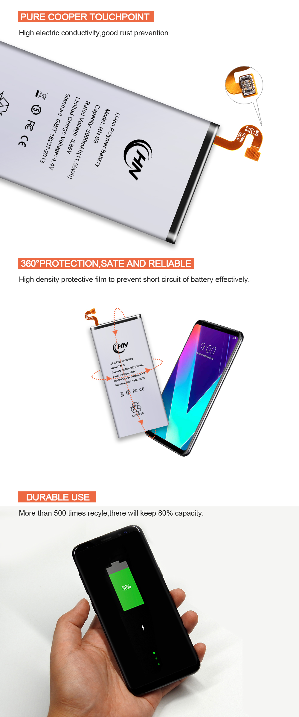 Samsung S9 Battery Price