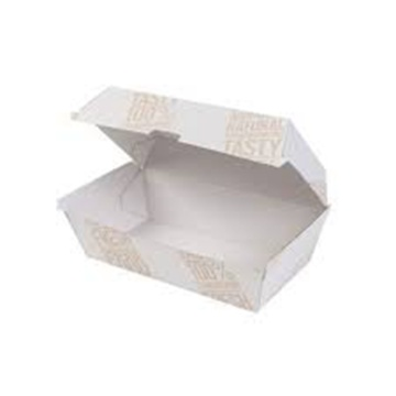 Cardboard lunch food boxes