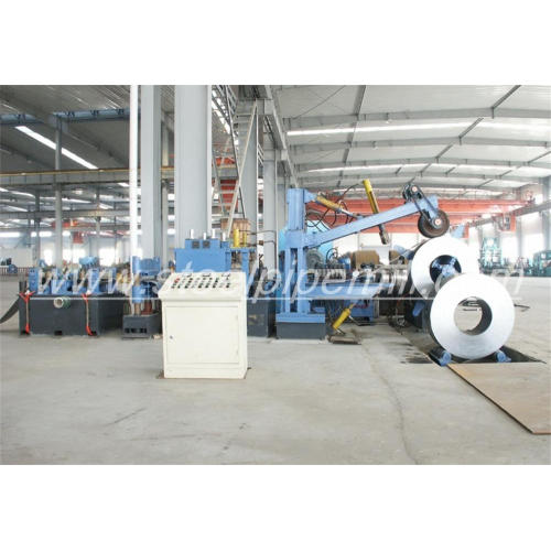 ovel steel pipe production line