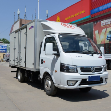 Dongfeng Cargo Truck with Sealed Cargo Box