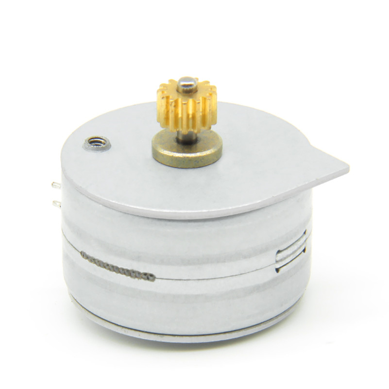 long shaft stepper motor