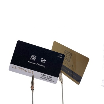 Magnetic Stripe Cards Rfid 13.56mhz Card