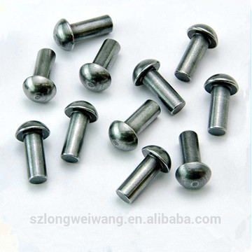 High Precision Half Round Steel Brass Rivet