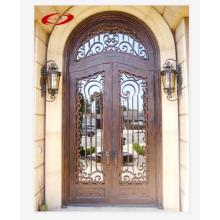Double Wrought Iron Door for Entrance Wholesale Affordable