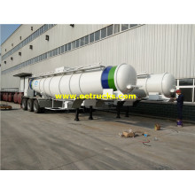 19m3 V Shape Sulfuric Acid Delivery Semi-Trailers