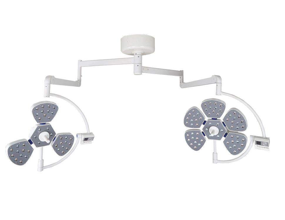 Hospital equipments double heads led ot operating lamp