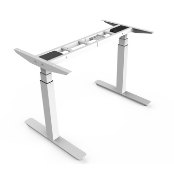 Office Use Dual Motor 3-Stage Standing Desk