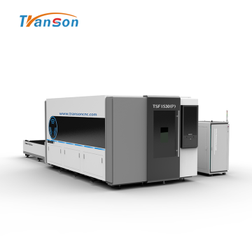 Full Enclosed Exchange Worktable Fiber Laser Cutter