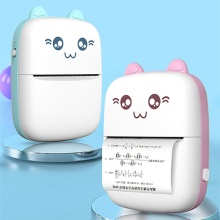 Mini Handheld Thermal Printer Mobile Phone Bluetooth With 1 Roller of Printing Paper Portable Pocket Printer Hot Selling