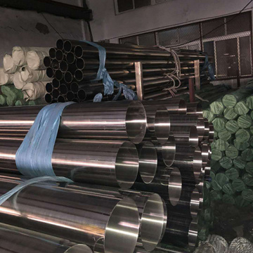 Polish Weld Decorative 201 304 Stainless Steel Pipe