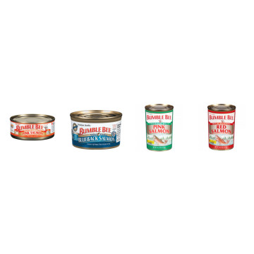 Canned Pink Salmon Fish in Oil 185g