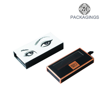 Customized eyelash packaging box white eyelash box