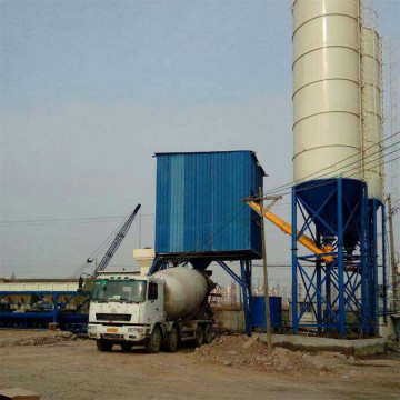 HZS35 business plan durable concrete batching plant