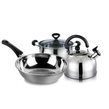 4 Pieces Stainless Steel Cookware Set