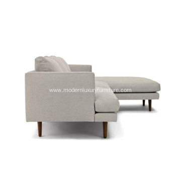 Burrard Seasalt Gray Right Sectional Sofa