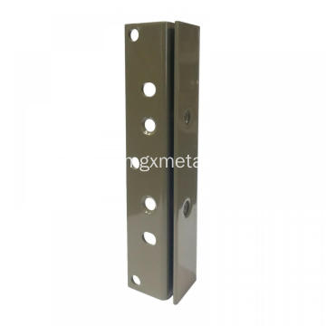 High Quality  Powder Coated Metal Bed Slot Rails Bracket