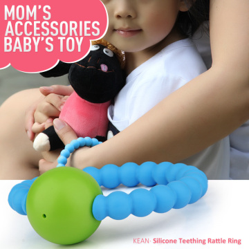 Wholesale Food Silicone Bracelet Teething for Baby