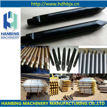 Wedge or Blunt Hydraulic Hammer and Rock Breaker