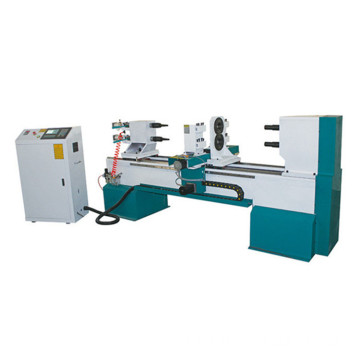 CNC lathe cutting and carving machine