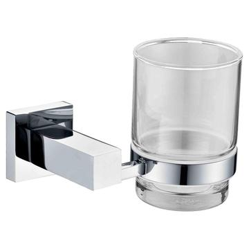 Square Style Range For Bathroom Glass Cup Holder