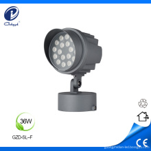 Outdoor architectural with cap and base led spotlights
