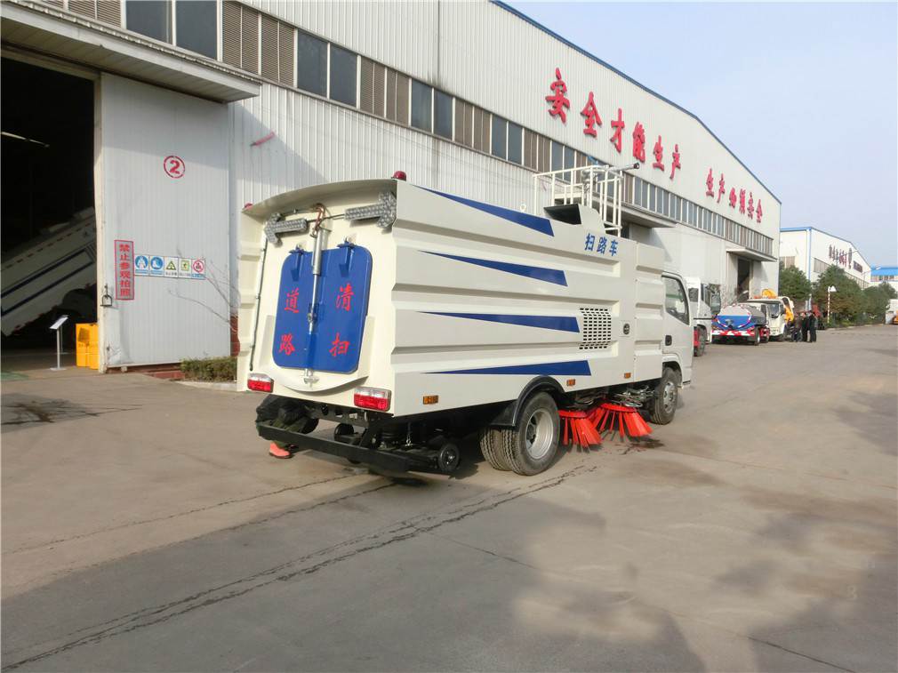 commercial sweeper truck 6