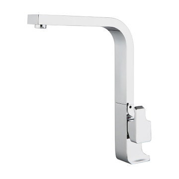 Simple Style Square Tube Type Kitchen Faucet