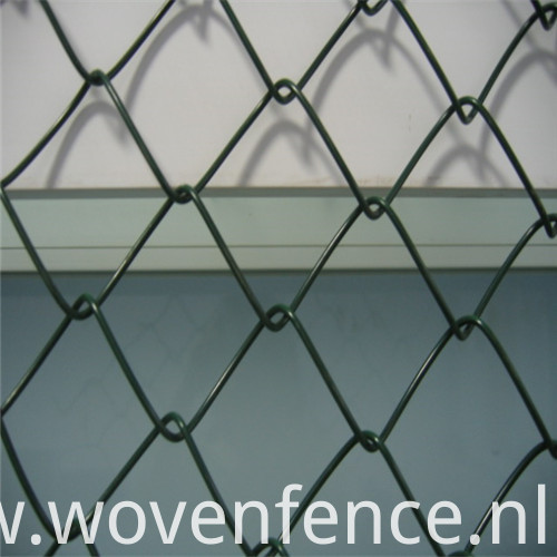 PVC-Coated-Chain link fence