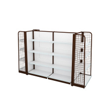 Delicately Designed Supermarket Steel Display Shelves