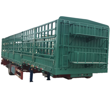 Dry Cargo Carrier Cargo Fence Semi Trailer