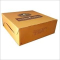 Custom logo kraft corrugated cartons fast food packaging